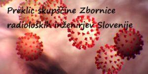 Prestavitev izredne in redne skupščine Zbornice radioloških inženirjev Slovenije